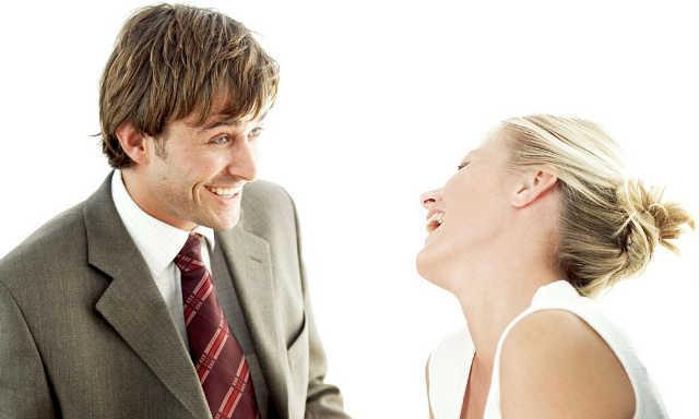 Невербальное общение между мужчиной и женщиной