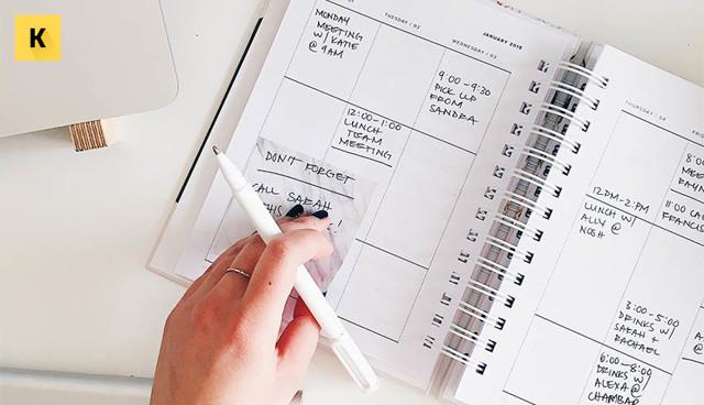 Распорядок дня: лучшие приемы для правильного планирования