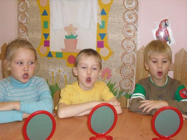 Артикуляционные упражнения для развития речи